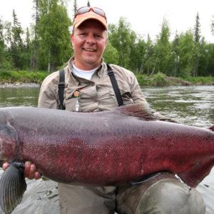 Fiske Alaska laks Flemming Wilberg